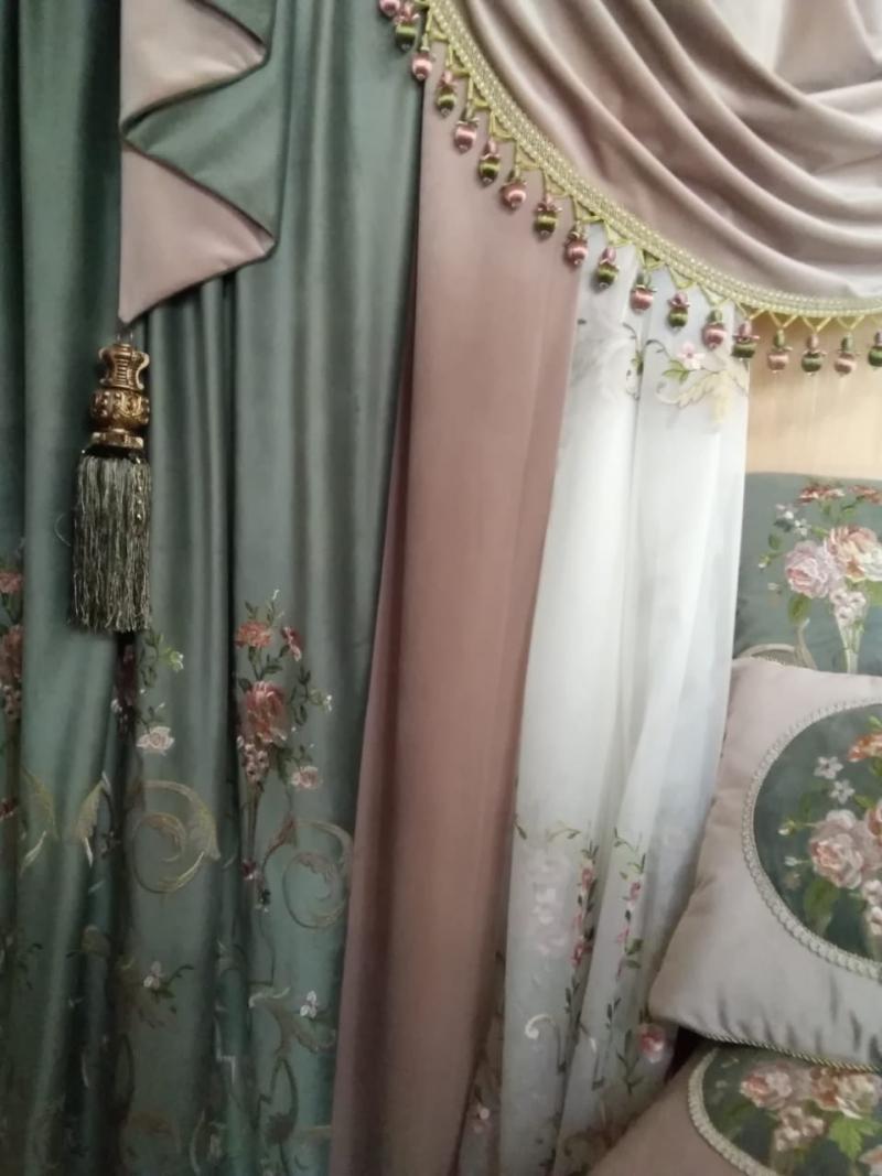 Элитные ткани Европейский стиль и Итальянская роскошь.