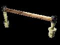 Соединитель электротяговый для крестовин ЭМС-120-4000